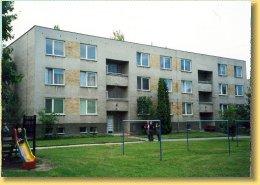 Třípatrový bytový dům Hodonín