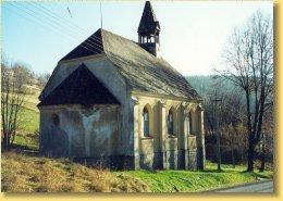 Kostel v obci Suchá