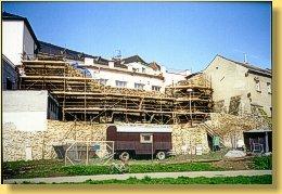 Statické zajištění městských hradeb Přerov