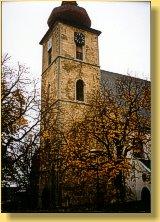 Zajištění věže kostela sv. Vavřince