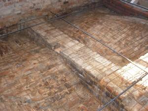 statické zajištění budov opravy kleneb